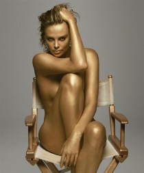 Hot Charlize Theron porn comics