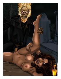 Ghost Rider porn comics