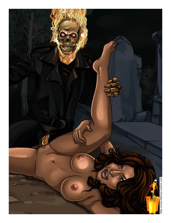 Ghost Rider porn comics2
