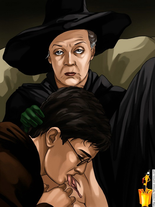 Harry Potter fucking time : Famous Comics of Celebs Harry Potter Porn