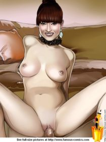 Sexy receptionist in porn comics : Ellie Kemper porn comics