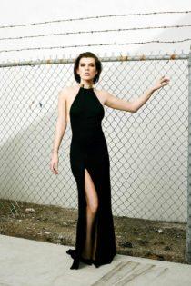 Hot babe of cinema : Mila Jovovich sex comics